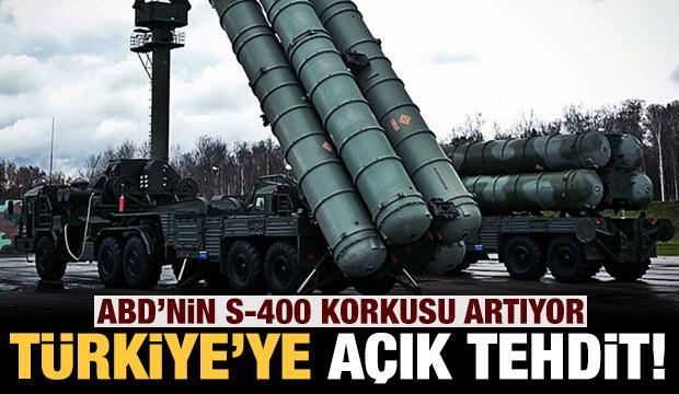 ABD'nin S-400 korkusu bitmiyor: Türkiye'yi açıkça tehdit etti!