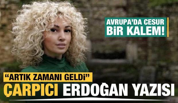 Arnavut gazeteci Bahiti'den dikkat çeken Erdoğan yazısı