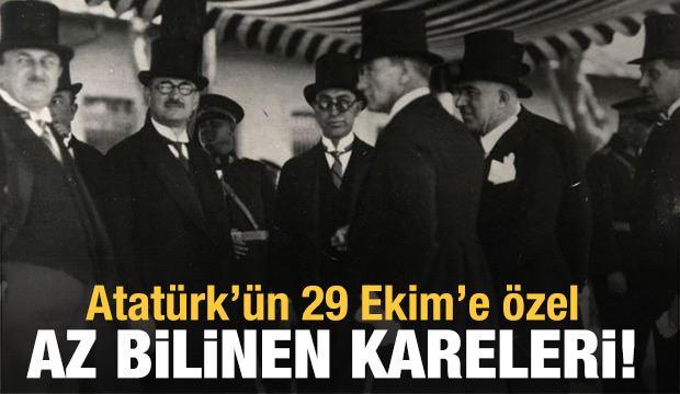 Atatürk'ün 29 Ekim'e özel az bilinen fotoğrafları