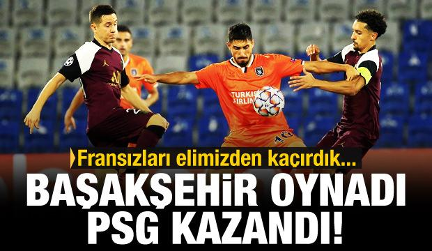 Başakşehir oynadı PSG kazandı
