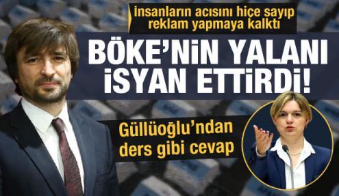 CHP'li Böke'nin iftirası AFAD Başkanı Güllüoğlu'na isyan ettirdi: Ne olur yük olmayın!
