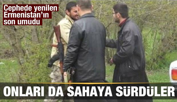 Ermeni rahipleri cephede dua etti askerlere 'kutsal su' içirdi