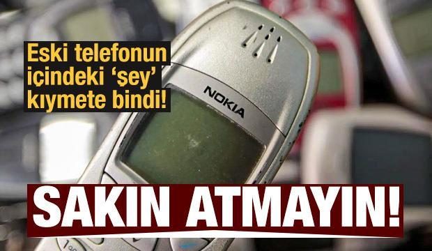 Eski telefonunuzu sakın atmayın! İçinden çıkan şey bakın ne işe yarıyor...