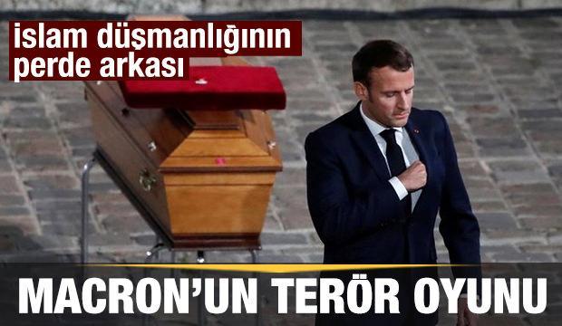 Macron'un İslam düşmanlığının perde arkası: Terör oyunu devam ediyor