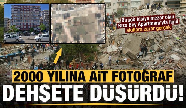 2000 yılına ait fotoğraf dehşete düşürdü! İzmir'deki o apartmanla ilgili akıllara zarar gerçek