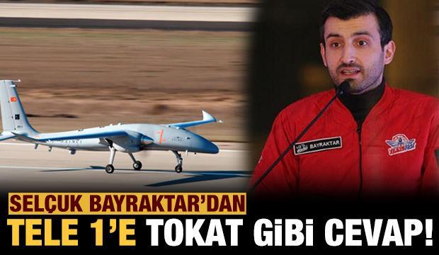 Selçuk Bayraktar'dan Tele1 TV'ye tokat gibi cevap: İsteseniz de uçacak istemeseniz de...