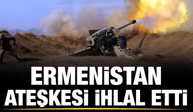 Son dakika... Ermenistan ateşkesi ihlal etti
