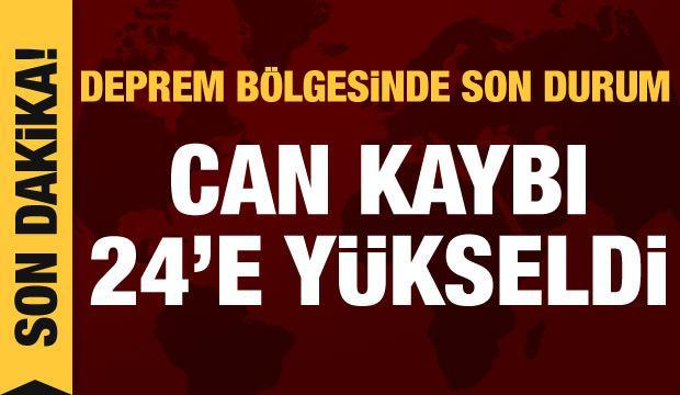 Son dakika haberi: Depremin vurduğu İzmir'de son durum!