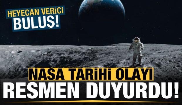 Son dakika: NASA tarihi olayı resmen duyurdu! Bütün dünya bu haberi bekliyordu...