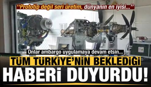 Türkiye'nin beklediği haberi duyurdu: Prototip değil, dünyanın en iyisi...