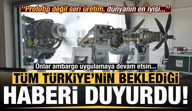 Son dakika: Türkiye'nin beklediği haberi duyurdu: Prototip değil, dünyanın en iyisi...