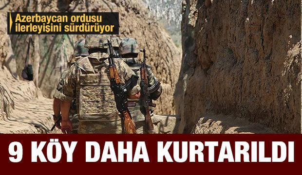 Son dakika..Azerbaycan ordusunun ilerleyişi sürüyor