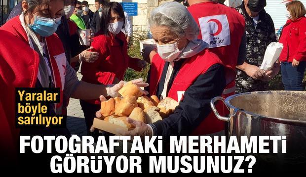 Türkiye İzmir için seferber! İşte duygulandıran anlar...
