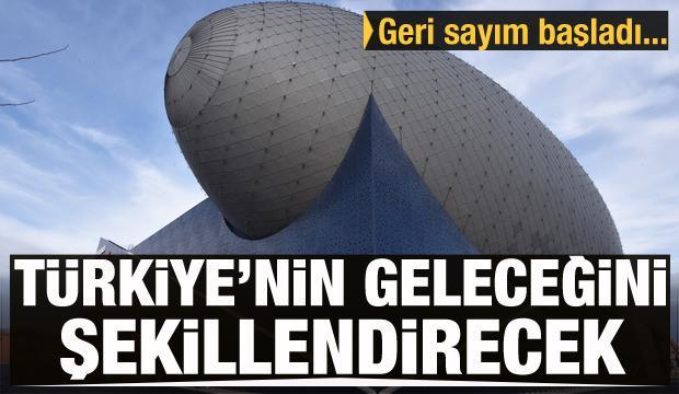Türkiye'nin geleceğini şekillendirecek! 30 Ekim'de açılıyor