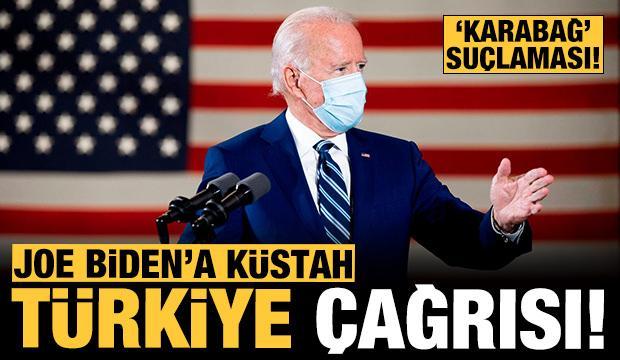 Biden'a küstah çağrı: Karabağ meselesi için Türkiye'yi suçladılar