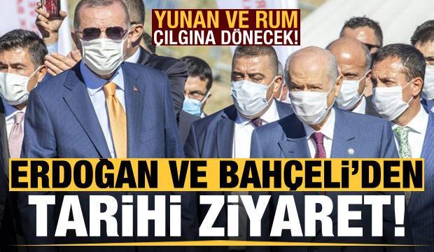 Son dakika: Başkan Erdoğan ve MHP lideri Bahçeli KKTC'de!