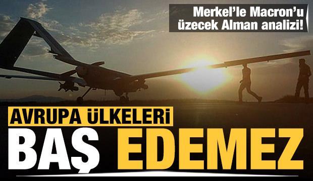 Alman sitesinden çarpıcı analiz: Avrupa ülkeleri Türk SİHA'larıyla baş edemez
