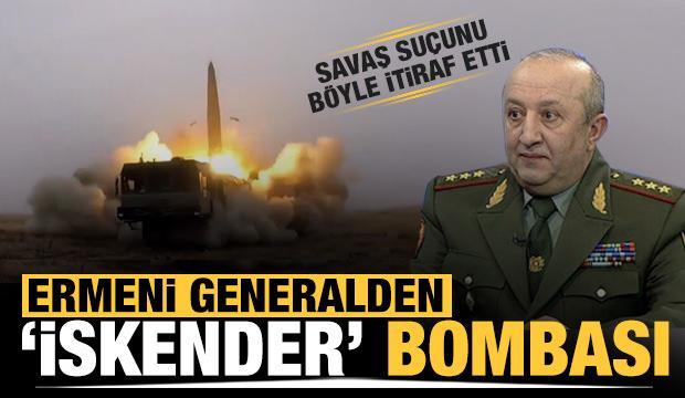 Ermeni general itiraf etti: Azerbaycan'a karşı İskender füzesi kullandık