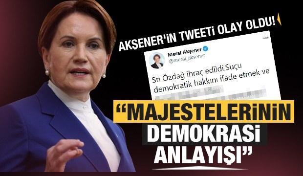 Meral Akşener geçmişini unuttu! 2016 yılında attığı tweet ortaya çıktı..