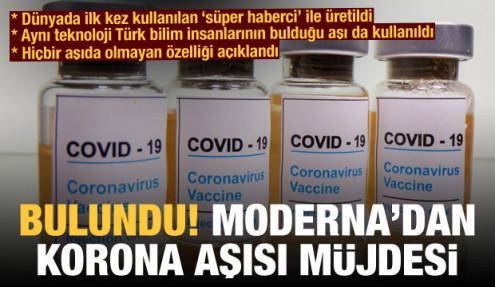 Moderna'dan koronavirüs aşısı müjdesi: Yüzde 94,5 etkili
