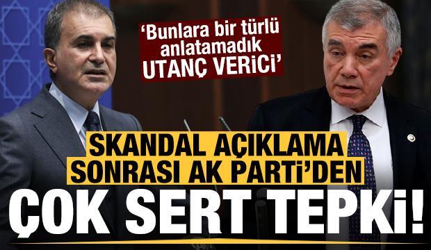 Skandal açıklama sonrası AK Parti'den çok sert tepki!