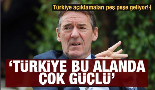 Türkiye açıklamaları peş peşe geliyor! Jim O'Neill: Türkiye bu alanda çok güçlü