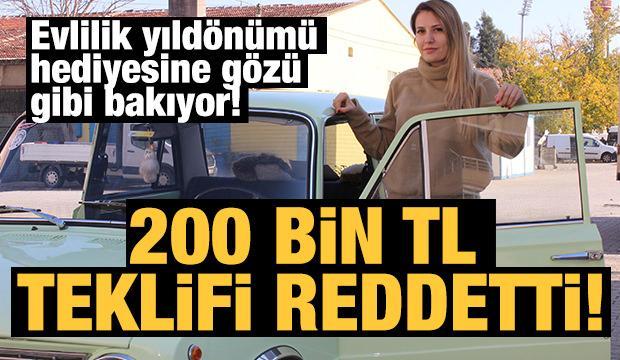 200 bin TL verdiler vermedi! Evlilik yıl dönümü hediyesi 'Hacı Murat'a gözü gibi bakıyor...