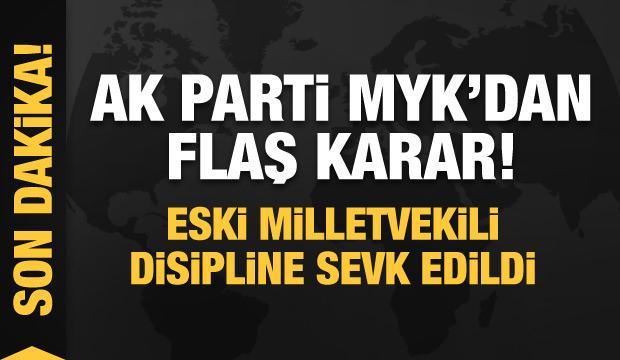 AK Parti MYK'dan son dakika kararı! Eski milletvekili Mehmet İhsan Arslan disipline sevk edildi