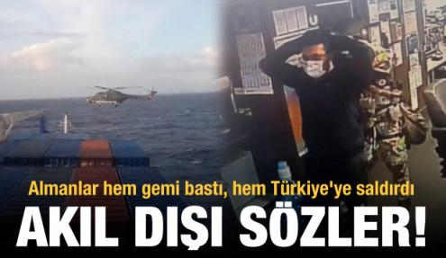 Alman basını, Türk gemisini basan askerlerini aklayıp Türkiye'ye saldırdı