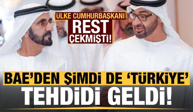 Cezayir Cumhurbaşkanı rest çekmişti! BAE'den 'Türkiye' tehdidi...
