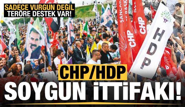 CHP-HDP soygun ittifakı! Sadece vurgun değil terör destek var