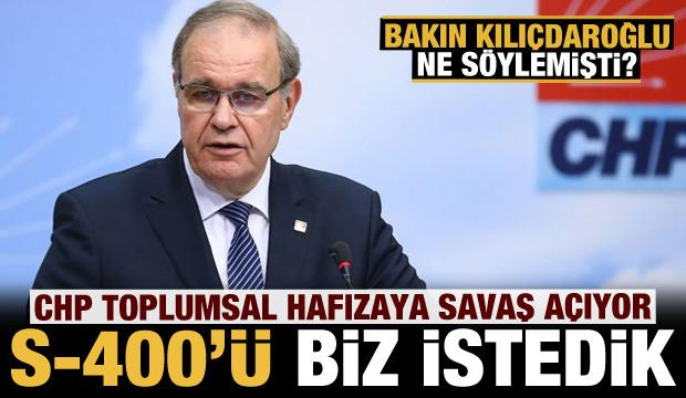 CHP toplumsal hafızayla alay ediyor: S-400'ü Kılıçdaroğlu istedi