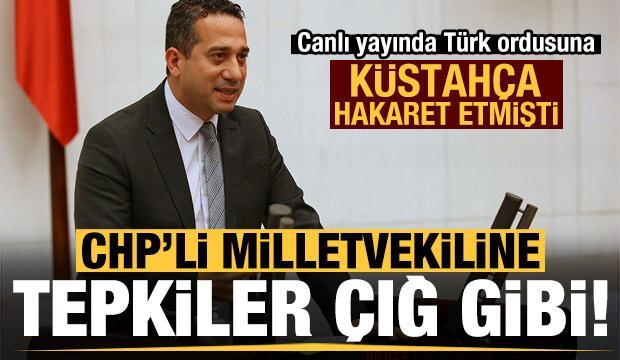 CHP'li Başarır, Türk ordusuna küstahça hakaret etmişti! MSB'den sert tepki...