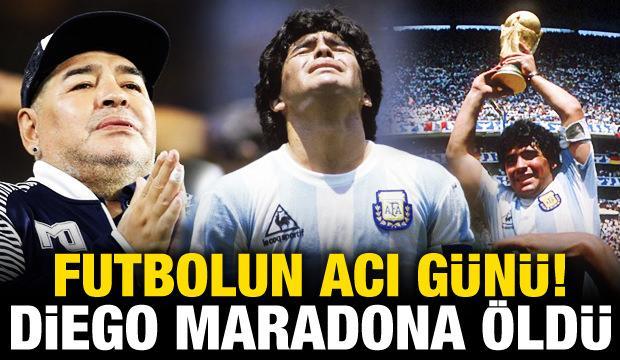 Futbol dünyasında yas! Maradona hayatını kaybetti!