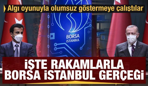 İşte rakamlarla Borsa İstanbul gerçeği! Algı operasyonuyla olumsuz göstermeye çalıştılar