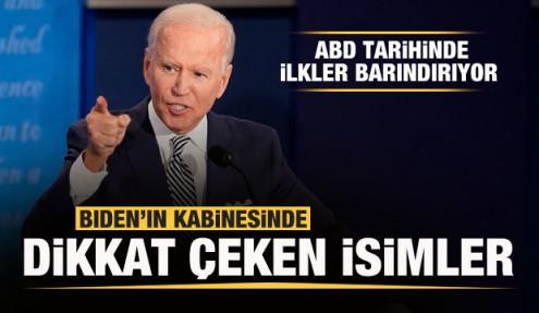 Joe Biden kabinesini açıkladı! Dikkat çeken isimler