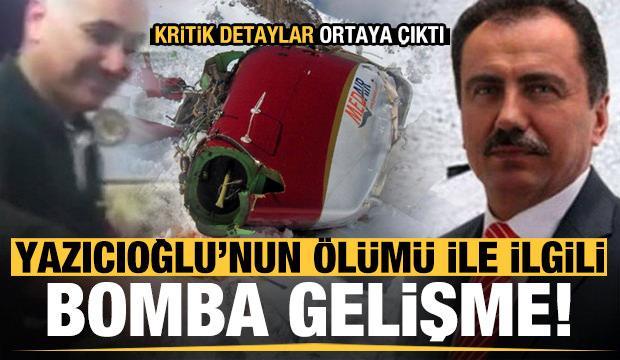 Muhsin Yazıcıoğlu'nun ölümüyle ilgili bomba gelişme! Kritik detaylar ortaya çıktı