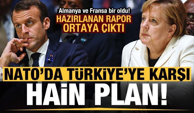 NATO'da Türkiye'ye karşı hain plan! Almanya ve Fransa bir oldu...