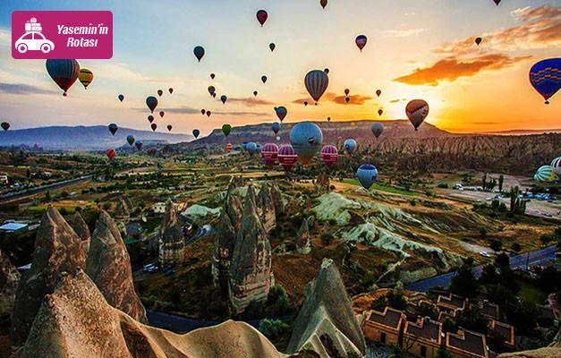 Nevşehir Ürgüp'te gezilip görülecek turistik yerler