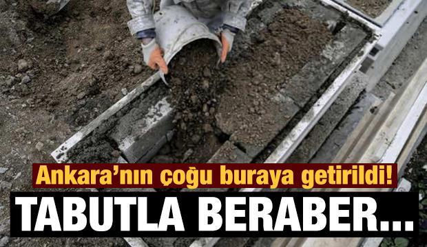 Ortaköy Mezarlığı Kovid-19 gerçeğini gözler önüne serdi!