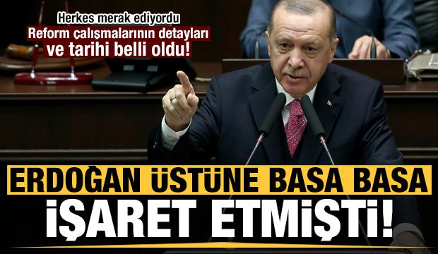 Erdoğan üstüne basa basa söylemişti! Detaylar ve tarih belli oldu...