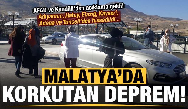 Son dakika: Malatya'da korkutan deprem! 6 ilden hissedildi, AFAD ve Kandilli'den açıklama...