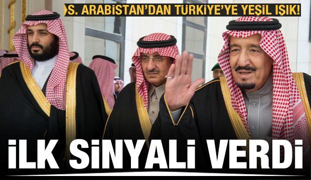 Suudi Arabistan'dan Türkiye'ye yeşil ışık! İlk sinyal geldi