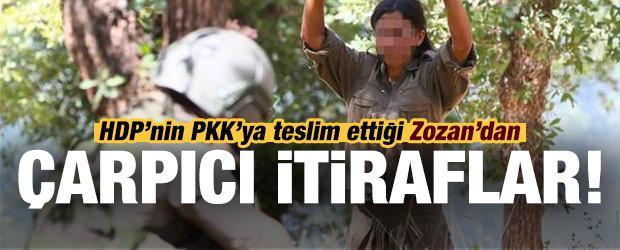 Teslim olan teröristten HDP itirafı!