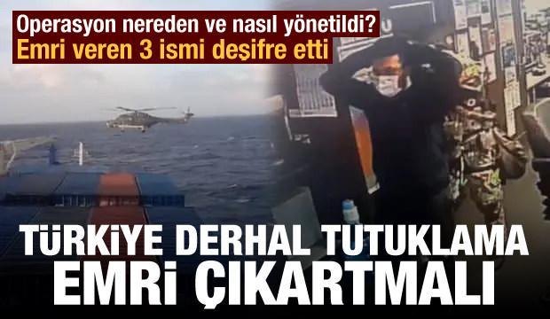 Operasyonu çeken 3 ismi deşifre etti! Türkiye derhal tutuklama emri çıkartmalı