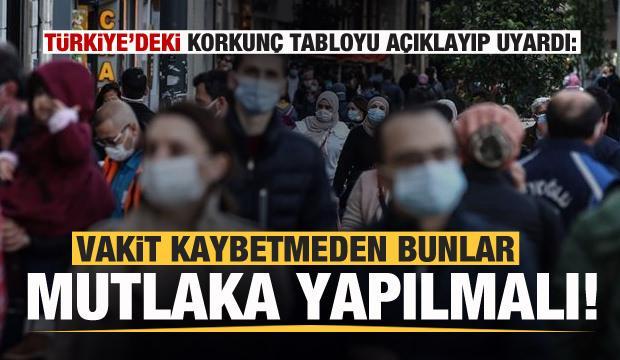 Türkiye'deki korkunç tabloyu açıklayıp uyardı: Bunlar mutlaka yapılmalı...