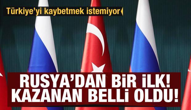 Türkiye'yi kaybetmek istemiyor! Rusya'dan Türkiye'ye yönelik bir ilk: Kazanan belli oldu