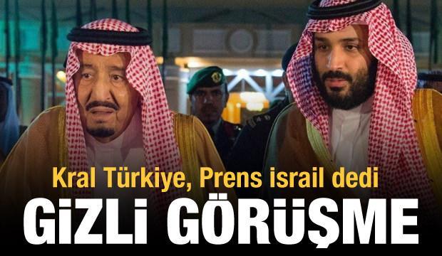 Veliaht Prens Selman İsrail ile birlikte İran'ı vurmak istiyor