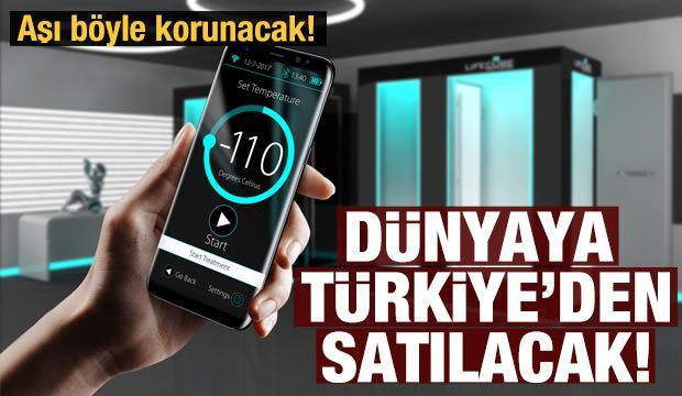 -70 dereceli soğutucular dünyaya Türkiye'den gidecek!