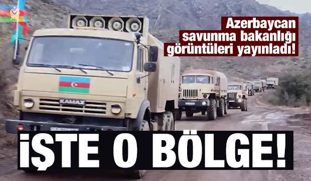 Azerbaycan yayınladı! İşte kurtarılan Laçın bölgesinin fotoğrafları